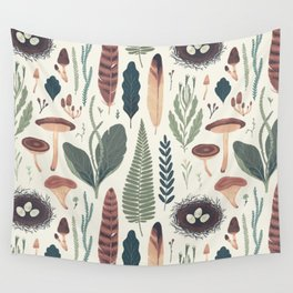 Forest Fall Pattern Wall Tapestry