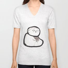 Buddha Meditating Unisex V-Neck