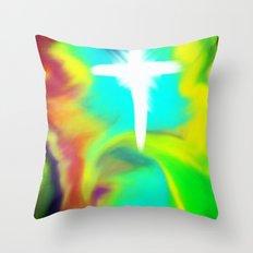 Rapture... a new beginning Throw Pillow
