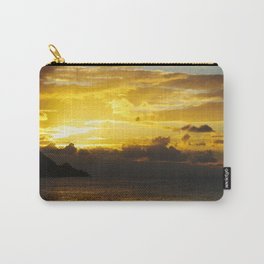 Sunset at Deshaies beach - Guadeloupe Carry-All Pouch