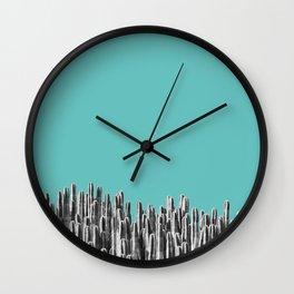 Cacti 01 Wall Clock