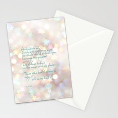 secrets and magic Stationery Cards