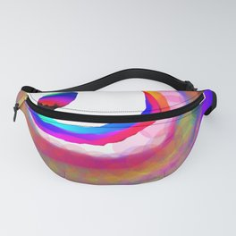 Space Rainbow Fanny Pack
