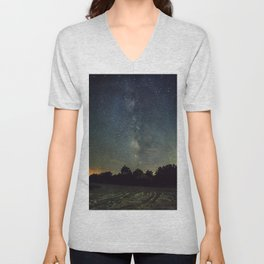 Galactic Impressions from the Outer Banks Unisex V-Neck