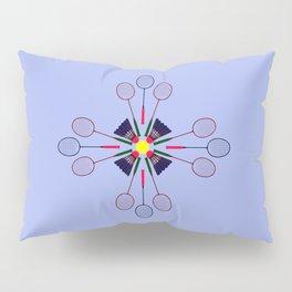Badminton Racket and Shuttlecock Design Pillow Sham