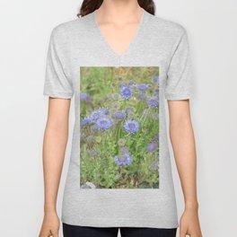 Flowers on the cornish coat Unisex V-Neck