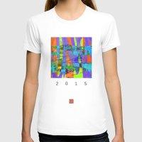 stockholm T-shirts featuring stockholm graffic by David Mark Lane
