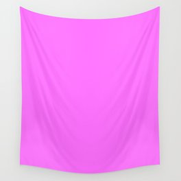 Shocking pink (Crayola) - solid color Wall Tapestry