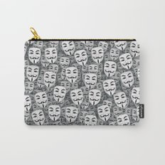 Anonymous masks Carry-All Pouch