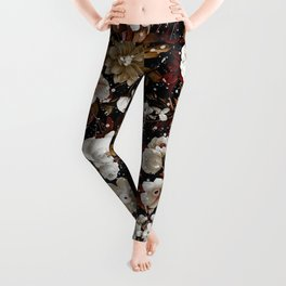 Christmas Garden Leggings