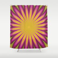 blossom Shower Curtains featuring Blossom by David Zydd