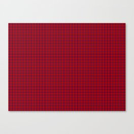 Rose Tartan Canvas Print