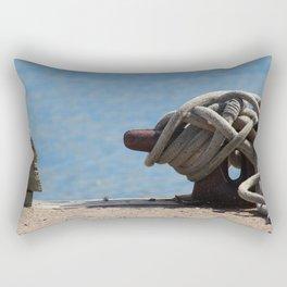 Summer Dock Rectangular Pillow