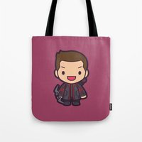 archer Tote Bags featuring Archer by Papyroo