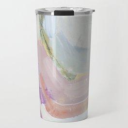 Waves: Rust Travel Mug