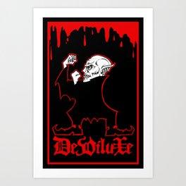 FIGHTIN' FERATU Art Print