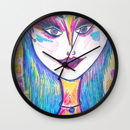 Sweet Chill Wall Clock