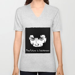 The Future is Indifferent Unisex V-Neck