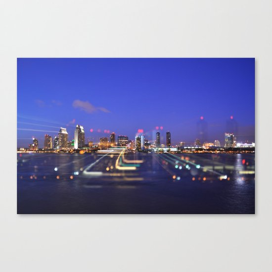 All Of The Lights Canvas Print