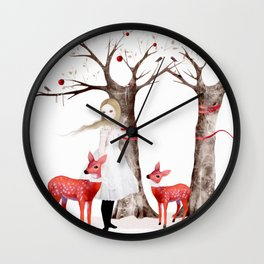 winter's tale Wall Clock