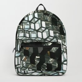 Harpa,  concert hall and conference centre Backpack
