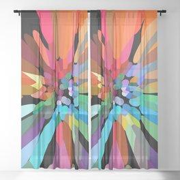 """Flower"" Sheer Curtain"