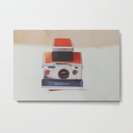 Sx-70 Love Metal Print