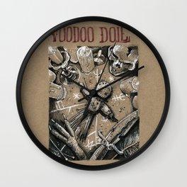 Voodoo Doll (Drawlloween 4/31) Wall Clock