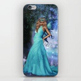 Crystal Blue iPhone Skin