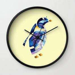 Penguin 2 (Arabic calligraphy) Wall Clock