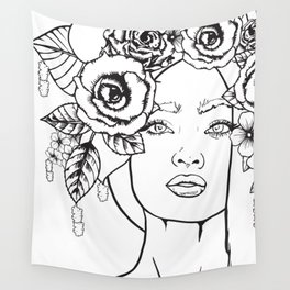 Rose to the Occasion Wall Tapestry