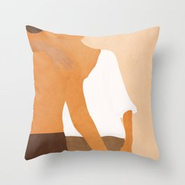 By Your Side Throw Pillow