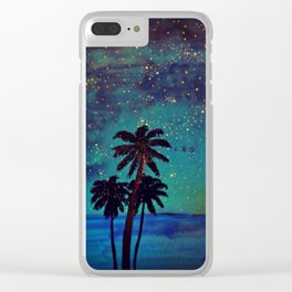 Seaside Impressions Clear iPhone Case