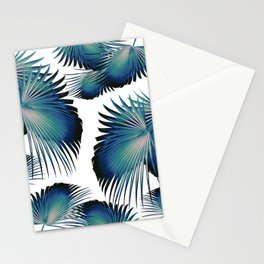 Fan Palm Leaves Paradise #1 #tropical #decor #art #society6 Stationery Cards
