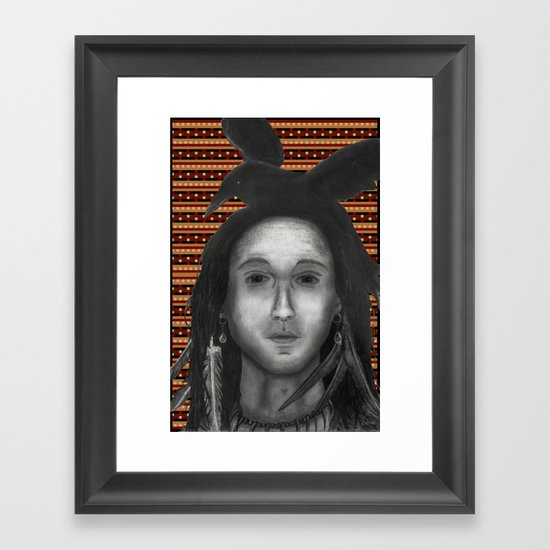 The Native Framed Art Print