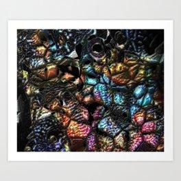 Lava Rocks Art Print