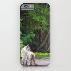 What the Cat Sees By the Hot Glass Studio Hydrangea iPhone 6s Slim Case