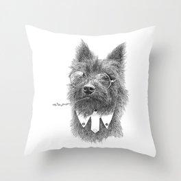 Toto Terrier Throw Pillow