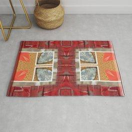 Partial Windows & Brick Tiles (Abstract / Tiles) Rug