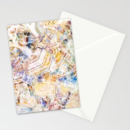 Mosaic of Barcelona XI Stationery Cards