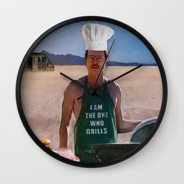 Walter White's Heisenberg Heisenbergers - Breaking Bad Wall Clock