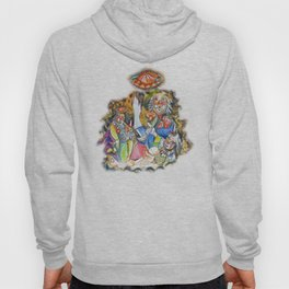 Red Button Dance Hoody
