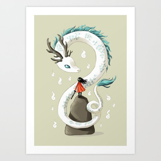 Dragon Spirit Art Print