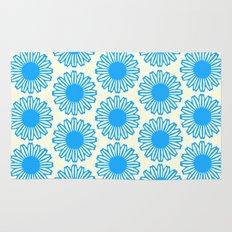 Vintage Flower_Turquoise Rug