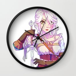 The Witcher 3 - Cirilla Wall Clock