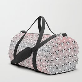 Cute Panda Duffle Bag