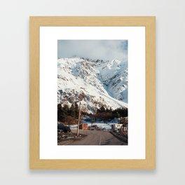 Kazbegi Mountains Framed Art Print