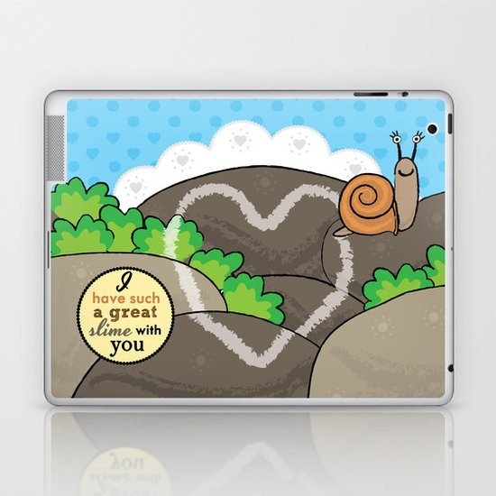 Lovebugs -I have such a great slime with you Laptop & iPad Skin