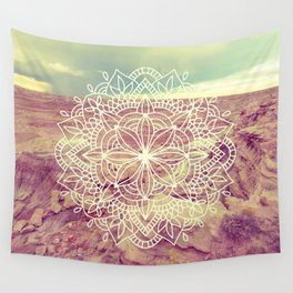 Rain Dance Desert Mandala Wall Tapestry