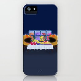 """You prepare a table before me in the presence of my enemies."" Psalm 23:5 iPhone Case"